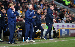 Peterborough United Manager Grant McCann shouts in frustration from the touchline - Mandatory by-line: Joe Dent/JMP - 04/03/2017 - FOOTBALL - Coral Windows Stadium - Bradford, England - Bradford City v Peterborough United - Sky Bet League One
