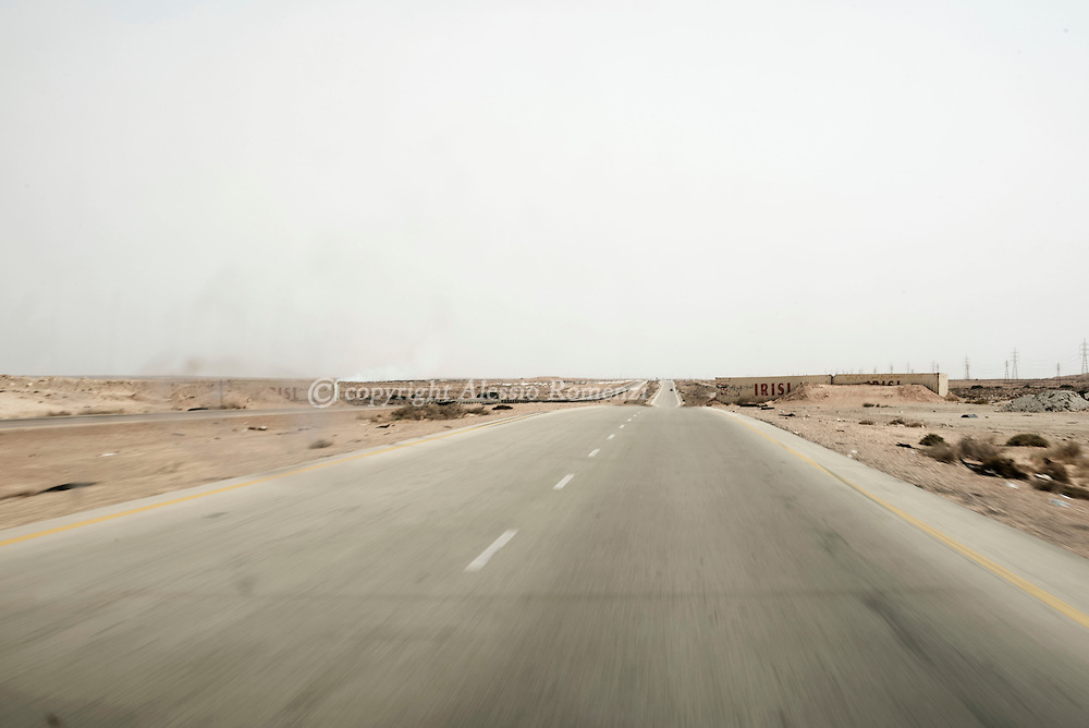 Libya: the road between Abu Grein and Sirte. Alessio Romenzi