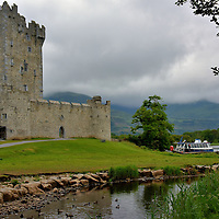 Tower House at Ross Castle in Killarney, Ireland<br />