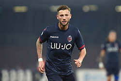 December 29, 2018 - Naples, Naples, Italy - Mitchell Dijks of Bologna FC during the Serie A TIM match between SSC Napoli and Bologna FC at Stadio San Paolo Naples Italy on 29 December 2018. (Credit Image: © Franco Romano/NurPhoto via ZUMA Press)