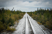Le  train Tshiuetin et Schefferville