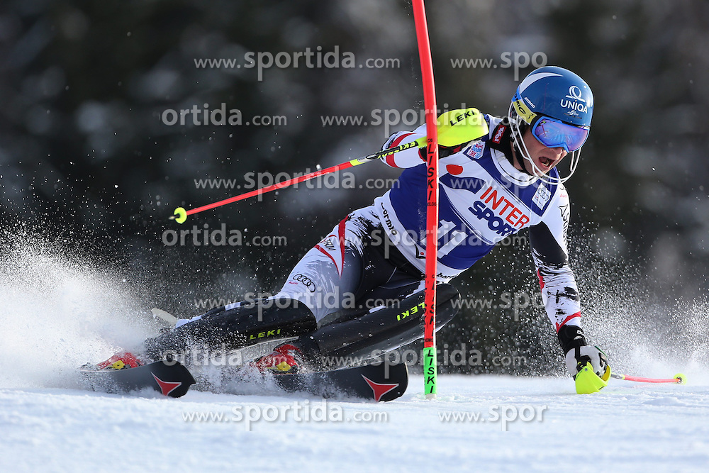 06.01.2014, Stelvio, Bormio, ITA, FIS Weltcup Ski Alpin, Bormio, Slalom, Herren, im Bild Benjamin Raich // Benjamin Raich  in action during mens Slalom of the Bormio FIS Ski World Cup at the Stelvio in Bormio, Italy on 2014/01/06. EXPA Pictures © 2014, PhotoCredit: EXPA/ Sammy Minkoff<br /> <br /> *****ATTENTION - OUT of GER*****
