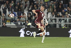 May 3, 2019 - Turin, Piedmont, Italy - Andrea Belotti (Torino FC) in action during the Serie A football match between Juventus FC and Torino FC at Allianz Stadium on May 03, 2019 in Turin, Italy..Final results: 1-1. (Credit Image: © Massimiliano Ferraro/NurPhoto via ZUMA Press)