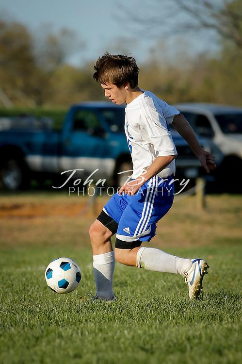 April 17, 2014.  <br /> MCHS Varsity Boys Soccer vs Rappahannock.
