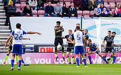 Nick Powell of Wigan Athletic scores the opening goal from a free kick - Mandatory by-line: Matt McNulty/JMP - 16/09/2017 - FOOTBALL - DW Stadium - Wigan, England - Wigan Athletic v Bristol Rovers - Sky Bet League One
