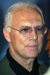 Mar. 13, 2005 - Hannover, Lower Saxony, Germany - Franz Beckenbauer visitis O2 at the CeBIT Fair in Hannover (Credit Image: © Future-Image/ZUMAPRESS.com)