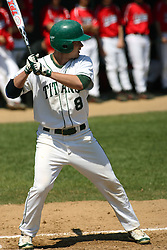 21 April 2007: Mike Berry. Carthage College loses the first game of a double header by a score of 5-2 against the Illinois Wesleyan Titans.
