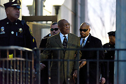 Actor and comedian BILL COSBY leaves after a February 2, 2016 pre-trail hearing at Montgomery Country Court House in Norristown, Pennsylvania.