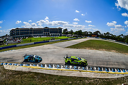 March 14, 2019 - Sebring, Etats Unis - 14 AIM VASSER SULLIVAN (USA) LEXUS RC F GT3 GTD RICHARD HEISTAND (USA) JACK HAWKSWORTH (GBR) PHILIPP FROMMENWILER  (Credit Image: © Panoramic via ZUMA Press)