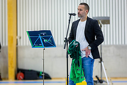 Sasa Abric during Opening event of Sports hall Baza, on January 8, 2018 in Sports hall Baza, Ljubljana, Slovenia. Photo by Ziga Zupan / Sportida