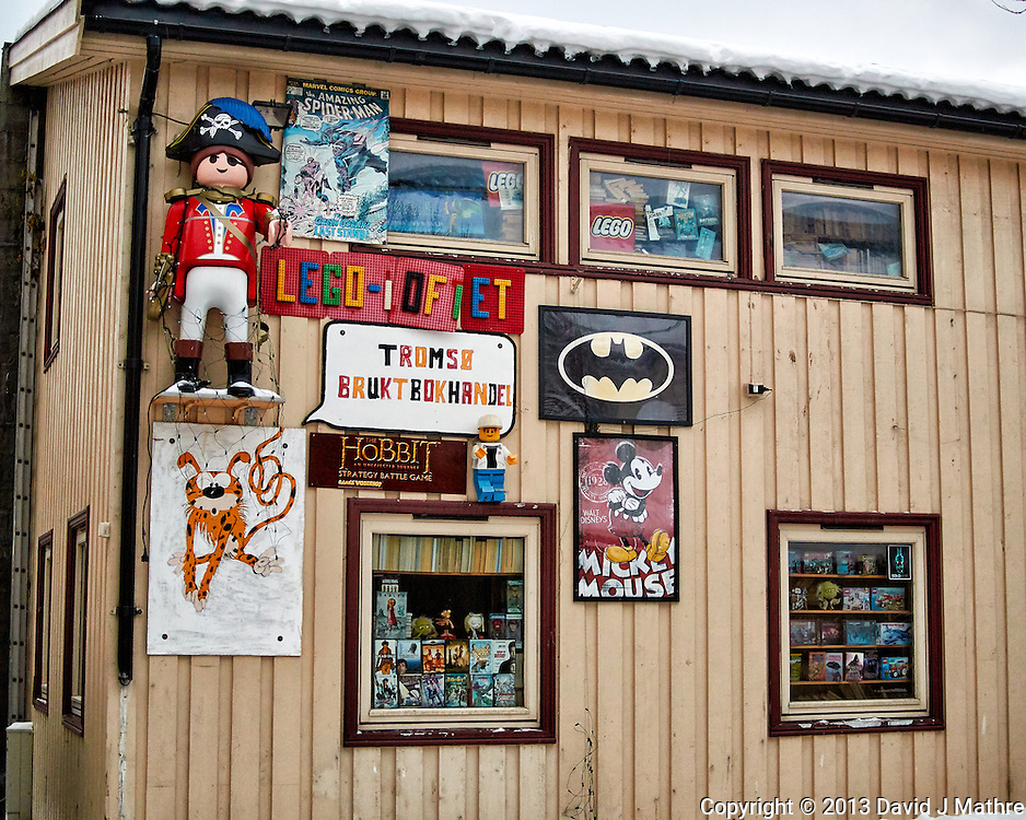 Toy store??? Winter walkabout in Tromsø, Norway. Image taken with a Nikon 1 V2 camera and 18.5 mm f/1.8 lens (ISO 320, 18.5 mm, f/2, 1/250 sec).