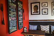 Lower-Level Interior of Betelnut Cafe.