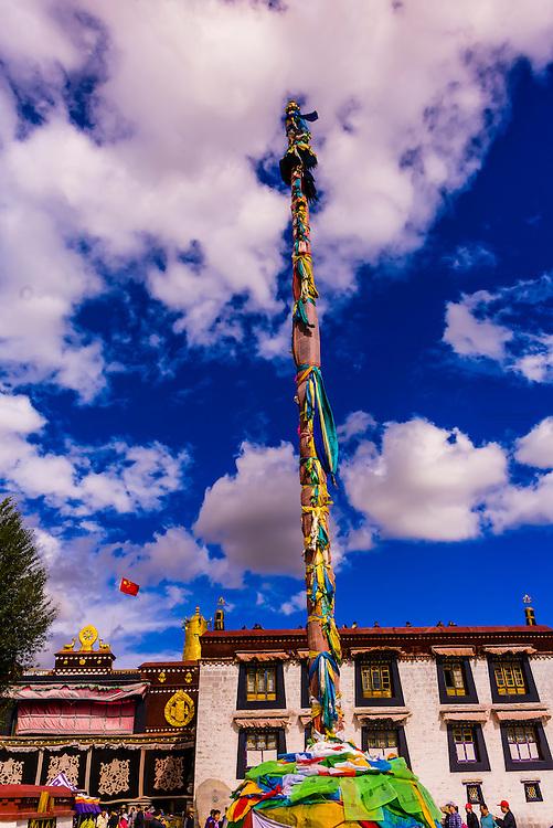 Barkhor Square, Lhasa, Tibet (Xizang), China.