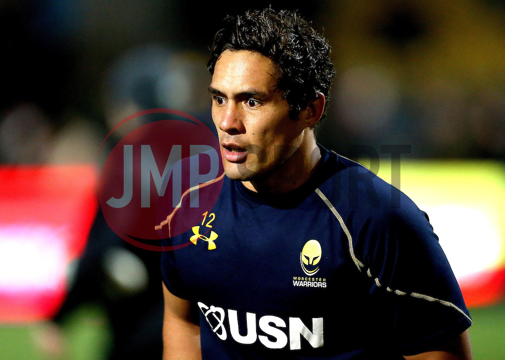 Jackson Willison of Worcester Warriors - Mandatory by-line: Robbie Stephenson/JMP - 04/11/2016 - RUGBY - Sixways Stadium - Worcester, England - Worcester Warriors v Bristol Rugby - Anglo Welsh Cup