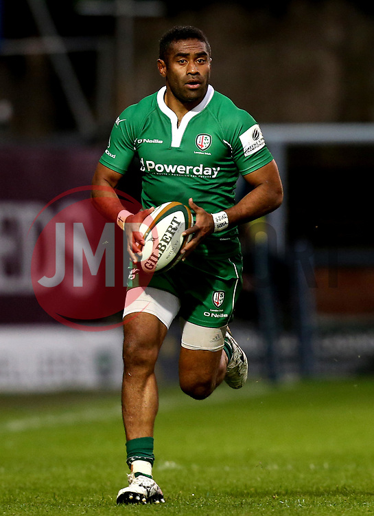 Aseli Tikoirotuma of London Irish - Mandatory by-line: Robbie Stephenson/JMP - 17/05/2017 - RUGBY - Headingley Carnegie Stadium - Leeds, England - Yorkshire Carnegie v London Irish - Greene King IPA Championship Final 1st Leg