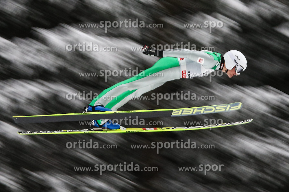 30.01.2015, Skisprungstadion, Predazzo, ITA, FIS Weltcup Nordische Kombination, Val di Fiemme, Skisprung, im Bild // during skijumping of the FIS Nordic Combined World Cup Val di Fiemme at the Skisprungstadion in Predazzo, Italy on 2015/01/30. EXPA Pictures © 2015, PhotoCredit: EXPA/ Alice Russolo