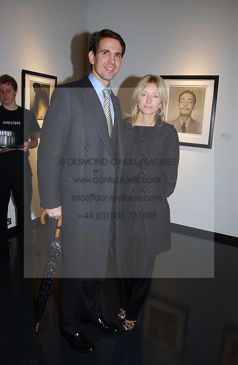 CROWN PRINCE PAVLOS and PRINCESS MARIE CHANTAL OF GREECE at an exhibition of late photographer Horst entitled 'Horst Platinum' at the Hamiltons Gallery, 13 Carlos Place, London on 28th November 2006.<br /><br />NON EXCLUSIVE - WORLD RIGHTS