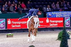 HEPPLER Lukas (SUI), Keep Cool III<br /> Leipzig - Partner Pferd 2018   <br /> FEI World Cup Vaulting Einzel Herren 2. Runde<br /> © www.sportfotos-lafrentz.de/Stefan Lafrentz