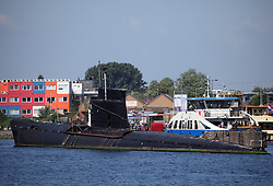 NETHERLANDS AMSTERDAM 11MAY11 - Old decommissioned submarine at the port of Amsterdam, Netherlands...Photo by Jiri Rezac