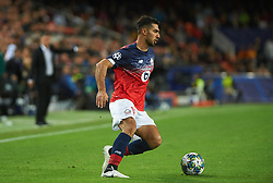 November 5, 2019, Valencia, Valencia, Spain: Zeki Celik of Losc Lille during the during the UEFA Champions League group H match between Valencia CF and Losc Lille at Estadio de Mestalla on November 5, 2019 in Valencia, Spain (Credit Image: © AFP7 via ZUMA Wire)