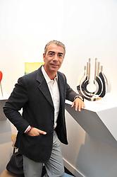 ANTONIO MANFREDA at the Moet Hennessy Pavilion of Art & Design London Prize 2009 held in Berkeley Square, London on 12th October 2009.