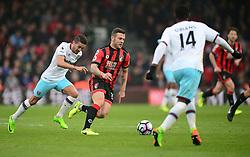 Jack Wilshere of Bournemouth - Mandatory by-line: Alex James/JMP - 11/03/2017 - FOOTBALL - Vitality Stadium - Bournemouth, England - Bournemouth v West Ham United - Premier League
