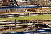 Belo Horizonte_MG, Brasil...Companhia de Saneamento Basico Copasa - ETE Corrego do Onca em Belo Horizonte, Minas Gerias...Sanitation Company Copasa - ETE Corrego do Onca in Belo Horizonte, Minas Gerais...Foto: LEO DRUMOND / NITRO