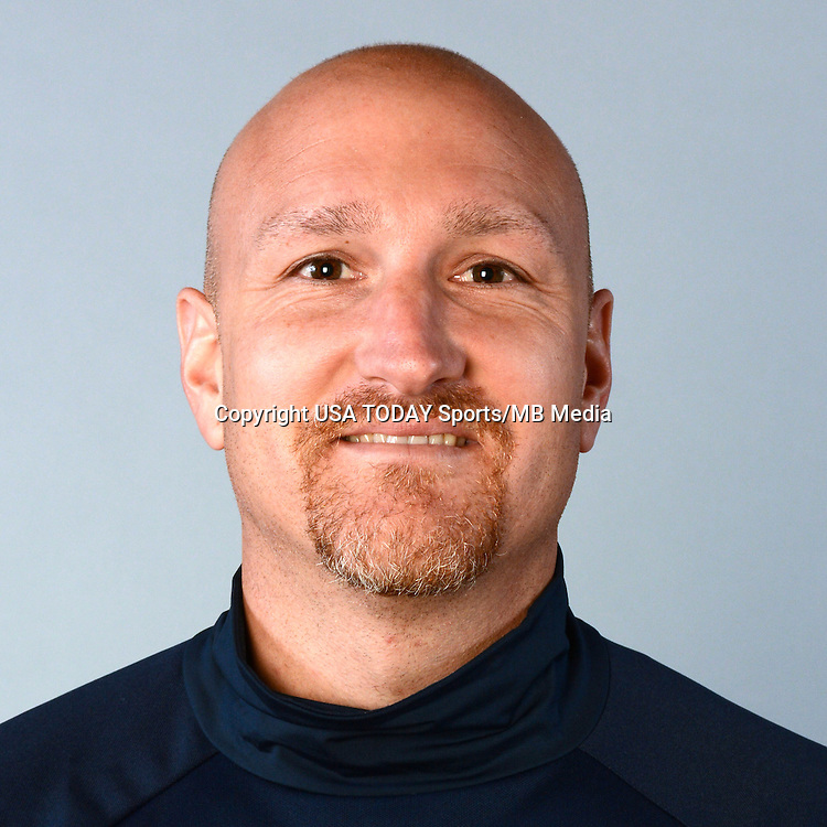 Feb 25, 2016; USA; New England Revolution coach Remi Roy poses for a photo. Mandatory Credit: USA TODAY Sports