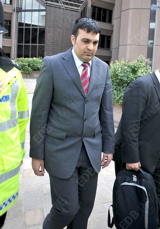 08.MAY.2012. MANCHESTER<br /> <br /> QAMAR SHAHZAD OF CONISBOROUGH, ROCHDALE, WAS FOUND NOT GUILTY REGARDING A CHILD SEX RING<br /> <br /> BYLINE: EDBIMAGEARCHIVE.COM<br /> <br /> *THIS IMAGE IS STRICTLY FOR UK NEWSPAPERS AND MAGAZINES ONLY*<br /> *FOR WORLD WIDE SALES AND WEB USE PLEASE CONTACT EDBIMAGEARCHIVE - 0208 954 5968*