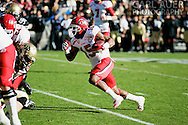 November 23, 2012: Utah Utes senior running back John White (15) brings the ball up the field during the NCAA Football game between the Utah Utes and the Colorado Buffaloes at Folsom Field in Boulder Colorado