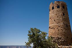 The Grand Canyon Watch Tower, Grand Canyon National Park, Arizona