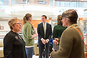 Ribbon cutting ceremony for the Allen Student Advising Center. ©Ohio University / Photo by Olivia Wallace