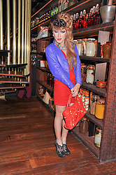 JODIE HARSH at a dinner to celebrate the beginning of a unique partnership between The Naked Heart Foundation and W's Newest Hotel W St.Petersburg -The 'For Russia With Love' dinner was hosted by Sadie Frost and Natalia Vodianova at Spice Market restaurant, W London, Leicester Square, London on 2nd June 2011.