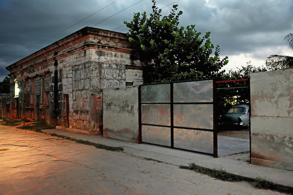 Evening in Cardenas, Matanzas, Cuba.