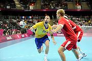 DESCRIZIONE : Handball Jeux Olympiques Londres Quart de Finale<br /> GIOCATORE : PETERSEN Fredrik<br /> SQUADRA : Danemark Homme<br /> EVENTO : Handball Jeux Olympiques<br /> GARA : Danemark Suede<br /> DATA : 08 08 2012<br /> CATEGORIA : handball Jeux Olympiques<br /> SPORT : HANDBALL<br /> AUTORE : JF Molliere <br /> Galleria : France JEUX OLYMPIQUES 2012 Action<br /> Fotonotizia : France Handball Homme Jeux Olympiques Londres Quart de Finale Basketball Arena<br /> Predefinita :