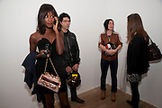 SHALA MONROQUE; TIM NOBLE, Pop Life in a Material World. Tate Modern. London. 29 September 2009.