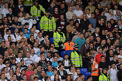 police separate fans - Photo mandatory by-line: Mitchell Gunn/JMP - Tel: Mobile: 07966 386802 06/10/2013 - SPORT - FOOTBALL - White Hart Lane - London - Tottenham Hotspur V West Ham United - Barclays Premiership