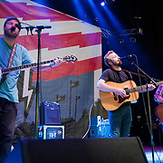 COLUMBIA, MD - October 6th, 2012 - Dave Carroll, Dave Simonett and Tim Saxhaug of Trampled By Turtles perform at the 2012 Virgin Mobile FreeFest in Columbia, MD. (Photo by Kyle Gustafson / For The Washington Post)