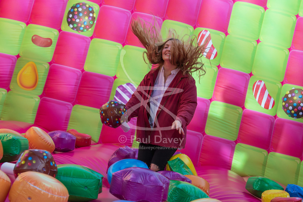 more london place london march 3rd 2016 a jelly themed adults - Multi Castle 2016