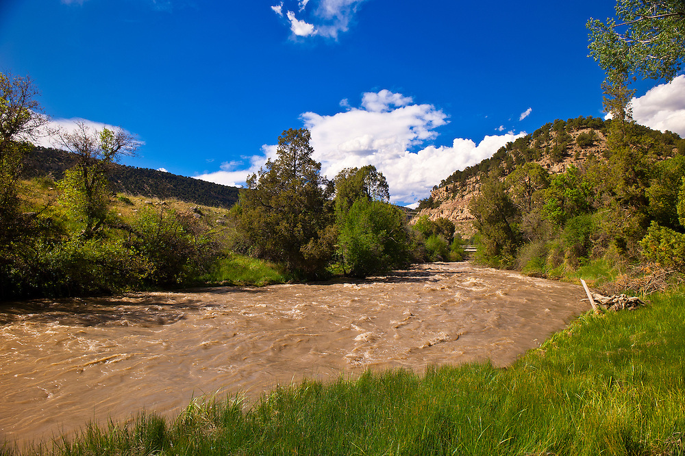 Uncompaghre River, Ridgway, Colorado USA