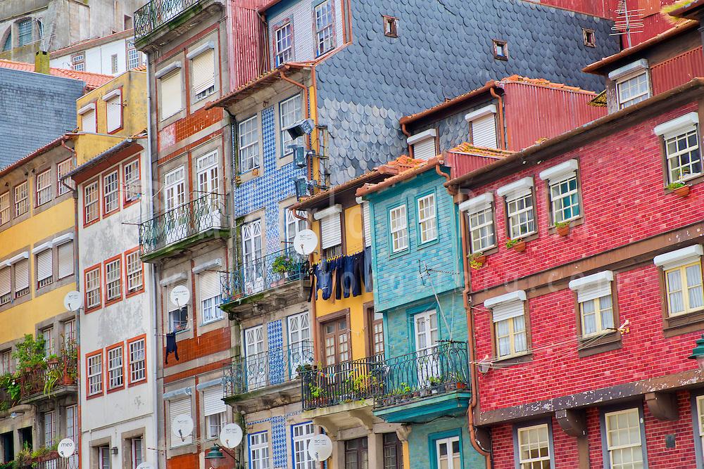 Alberto Carrera, Typical architecture, Douro River, Old City, World Heritage Site, Oporto, Porto, Portugal, Europe