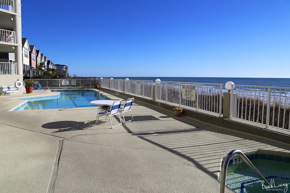 Garden City beach oceanfront condo for rent