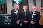 18174Sales Celebration and Awards Ceremony, April 19, 2007. Walter Hall Rotunda...Ken Hartung, Glenn Cortlett, Howard Stevens