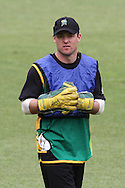 Brad Patton of the Central Stags during the Central Stags training session held at St Georges Park in Port Elizabeth on the 20 September 2010..Photo by: Shaun Roy/SPORTZPICS/CLT20
