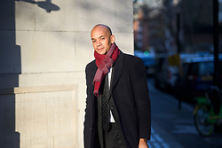 © Licensed to London News Pictures. 11/03/2019. London, UK. The Independent Group MP CHUKA UMUNNA is seen in Westminster, London, the day before MPs are due to hold a 'meaningful vote' on Theresa May's Brexit deal. Parliament is expected to reject the Prime Ministers deal, with suggestions that there could be attempts to remove the PM if there is any delay to Brexit. Photo credit: Ben Cawthra/LNP