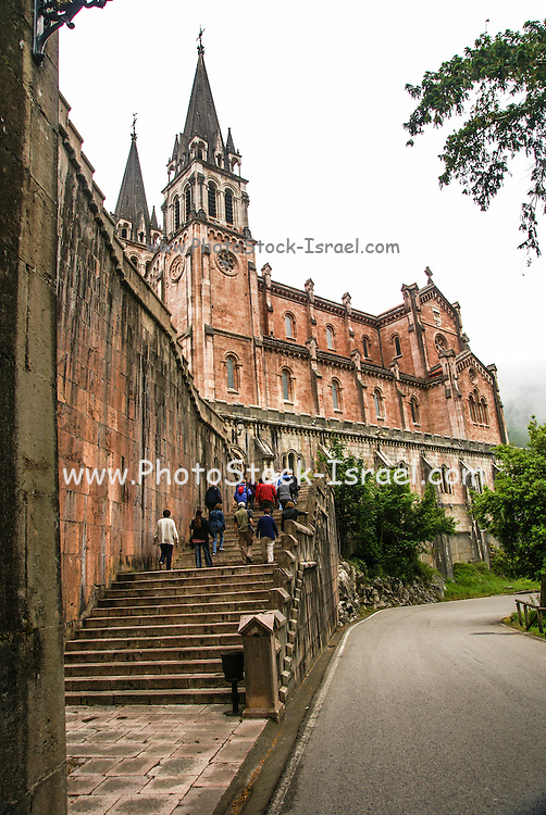 Covadonga Asturias Spain Cathedral