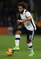 Ikechi Anya of Derby County - Mandatory by-line: Robbie Stephenson/JMP - 21/02/2017 - FOOTBALL - iPro Stadium - Derby, England - Derby County v Burton Albion - Sky Bet Championship