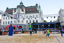 Jan Pokersnik at Beach Volleyball Challenge Ljubljana 2014, on August 2, 2014 in Kongresni trg, Ljubljana, Slovenia. Photo by Matic Klansek Velej / Sportida.com