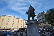 Statue of national hero Pascal Paoli.