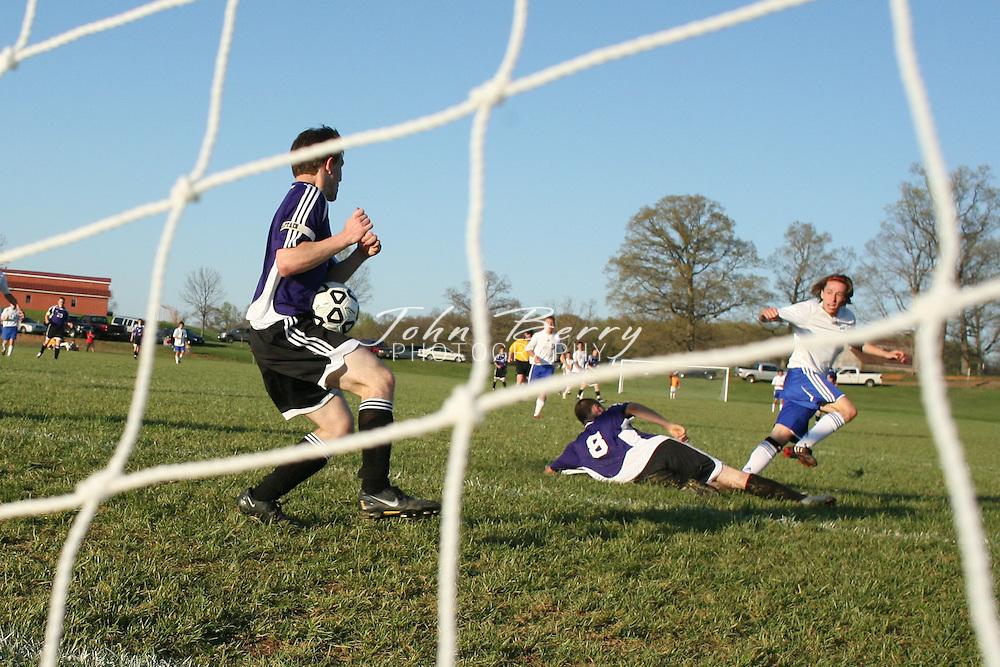 MCHS Varsity Boys Soccer .vs Strasburg .4/17/2009